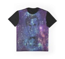 Matt Smith Galaxy  Graphic T-Shirt