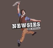 Newsies The Musical Cover Art One Piece - Short Sleeve