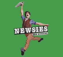 Newsies The Musical Cover Art Kids Tee