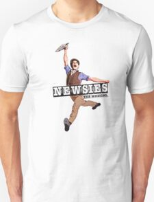 Newsies The Musical Cover Art Unisex T-Shirt