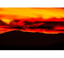Vancouver Island Sunset Photographic Print