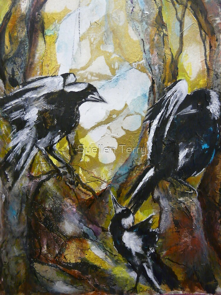 Magpies by Suellen Terry