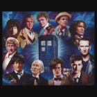11 Doctors T Shirt by Colin Howard