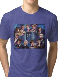 11 Doctors T Shirt Tri-blend T-Shirt