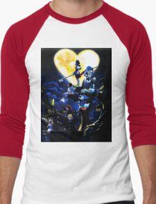 Kingdom Hearts Men's Baseball ¾ T-Shirt