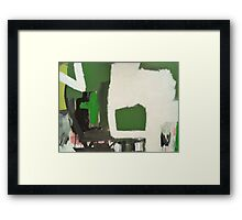 Exit Strategy Framed Print