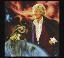 Jon Pertwee Sea Devil by Colin Howard