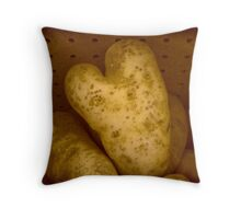 Potato Valentine Throw Pillow