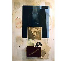 LA MEMORIA Y SU PESO (memory and it's weight) Photographic Print