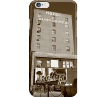 Abilene, Kansas - Hotel Sunflower iPhone Case/Skin