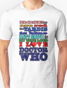 Valentine WHO - Smith Unisex T-Shirt