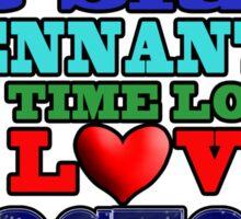 Valentine WHO - Tennant Sticker