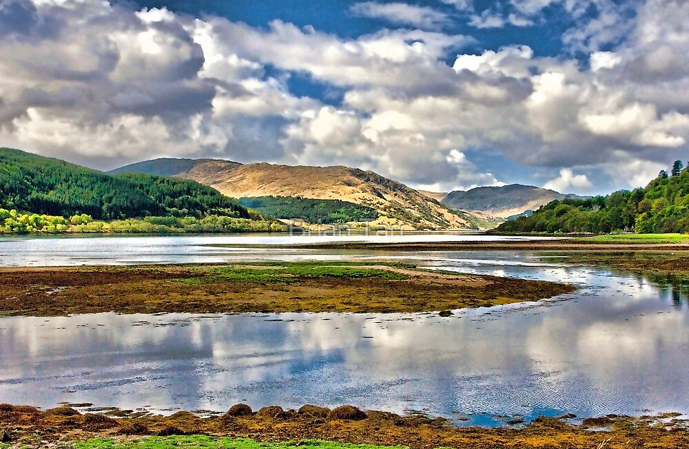 Loch Sunart From Strontian by Tarrby