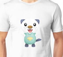 Oshawott - shade + white background Unisex T-Shirt
