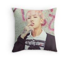 Rap Monster  Throw Pillow