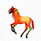 Fantasy Horse .. iPad case by LoneAngel