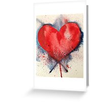 All Heart Greeting Card