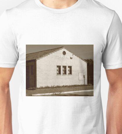 Abilene, Kansas - Railroad Station Unisex T-Shirt