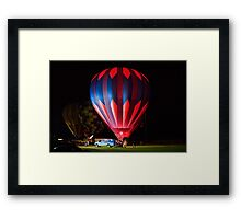 "The Final ""Glow"" Framed Print"