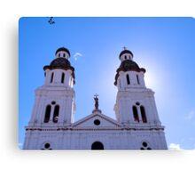 Santo Domingo Church in Cuenca, Ecuador Canvas Print