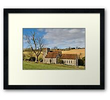 Rural England Framed Print