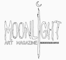 Moonlight Art Magazine T-shirt by Christopher Moonlight