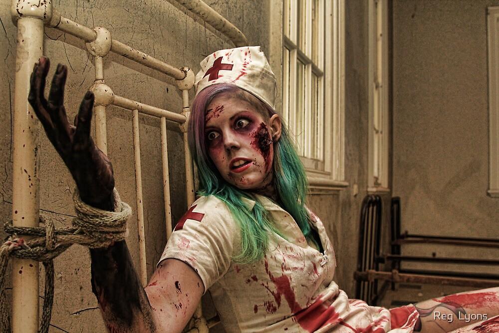 Binding of a Zombie Nurse by Reg  Lyons