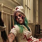 Binding of a Zombie Nurse by Reg  Lyons