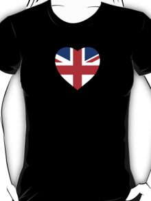 Union Jack Heart T-Shirt