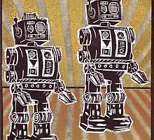 Robot Duet by William P. Etheridge  Jr.
