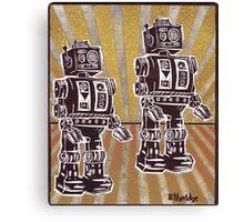 Robot Duet Canvas Print