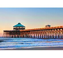 Folly Beach Pier Photographic Print
