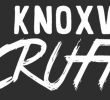 Keep Knoxville Scruffy Sticker