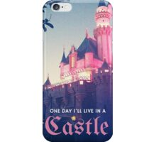 Magic Kingdom Castle Princess Typography Fairy  iPhone Case/Skin