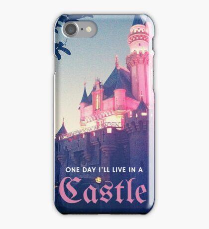 Magic Kingdom Castle Princess Typography Fairy  iPhone Case/Skin