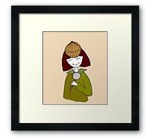 Little Sherlock Framed Print