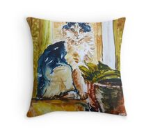The Cozy  Place Throw Pillow