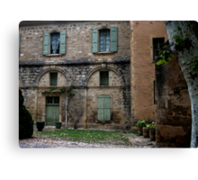 Near the Abbey of Valmagne Canvas Print