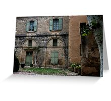 Near the Abbey of Valmagne Greeting Card