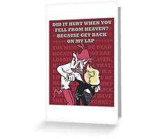 HEVFIN OTP valentine Greeting Card