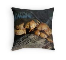 A close knit family Throw Pillow