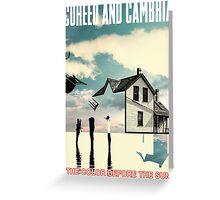 Coheed and Cambria Gunahad2 Greeting Card
