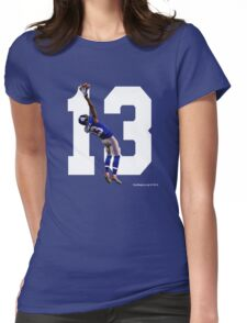 Catch it Like Beckham Womens Fitted T-Shirt