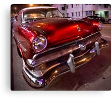 Miami Cruiser Canvas Print