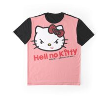 Hell No Kitty! Graphic T-Shirt