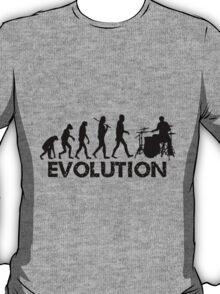 Evolution of a Drummer T-Shirt