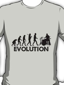 Evolution of a Drummer T-Shirt