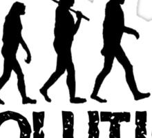 Evolution of a Drummer Sticker