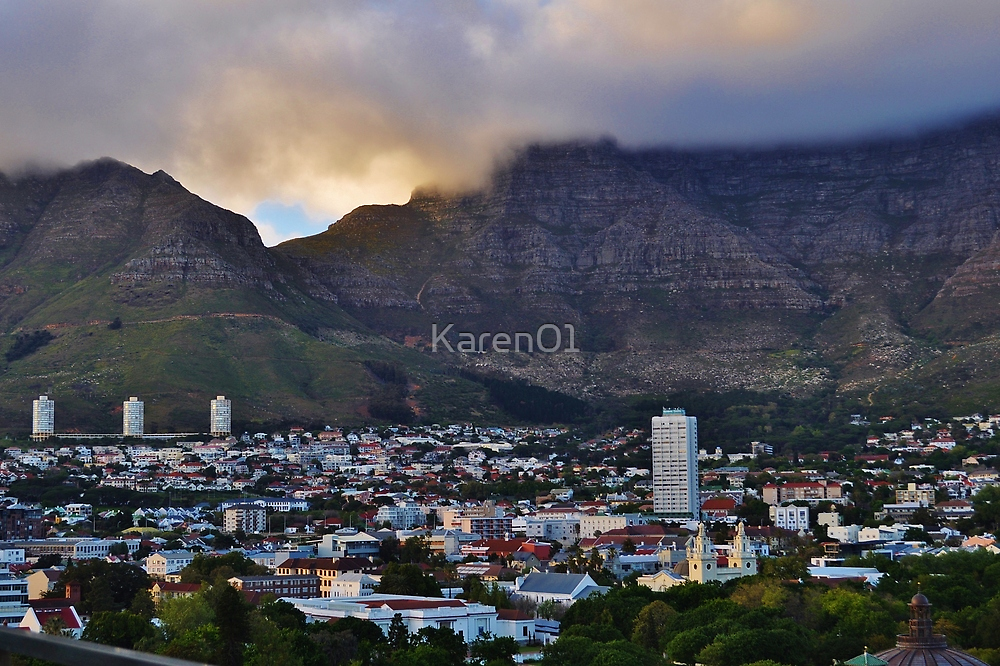 Cape Town, softened by Karen01
