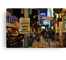 Tourist temptation Canvas Print